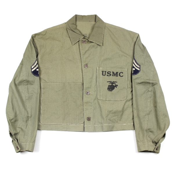 Forces des Etats-Unis - Wapata SHORTENED-USMC-P41-JACKET-ARMY-RANKS-ASN-1
